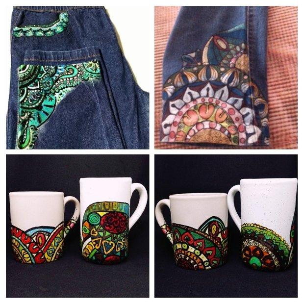 "alt=""jeans personalizzati"" alt=""jeans"" alt=""tazze personalizzate"" alt=""tazze"" alt=""pittura a mano"" alt=""handmade"" alt=""creatività"" alt=""decorazione personalizzata"" alt=""colori"" alt=""vivacità nei tessuti"" alt=""personalizzazione oggetti"" alt=""colori"""