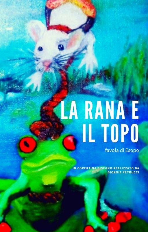 """alt=""""la rana e il topo"""" alt=""""illustrazione di favole"""" alt=""""incisione vetro roma"""" alt=""""illustrazione favola di esopo"""""""